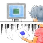 PC画面の色と印刷後の色