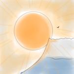 日の出とイベント