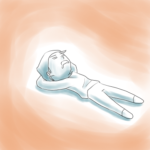 ベッドの上の快適性